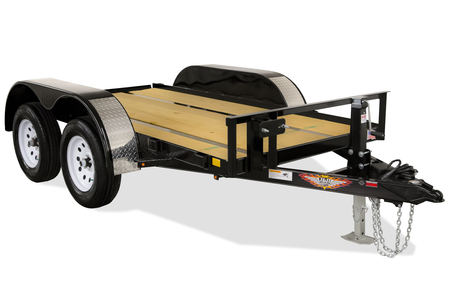 2020 H and H Trailer 66X10 FUEL HEAVY DUTY 10K