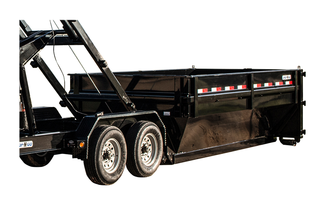 "2019 Load Trail 83"" X 16' Drop-n-go Roll Off Dump Box Dump Trailer"