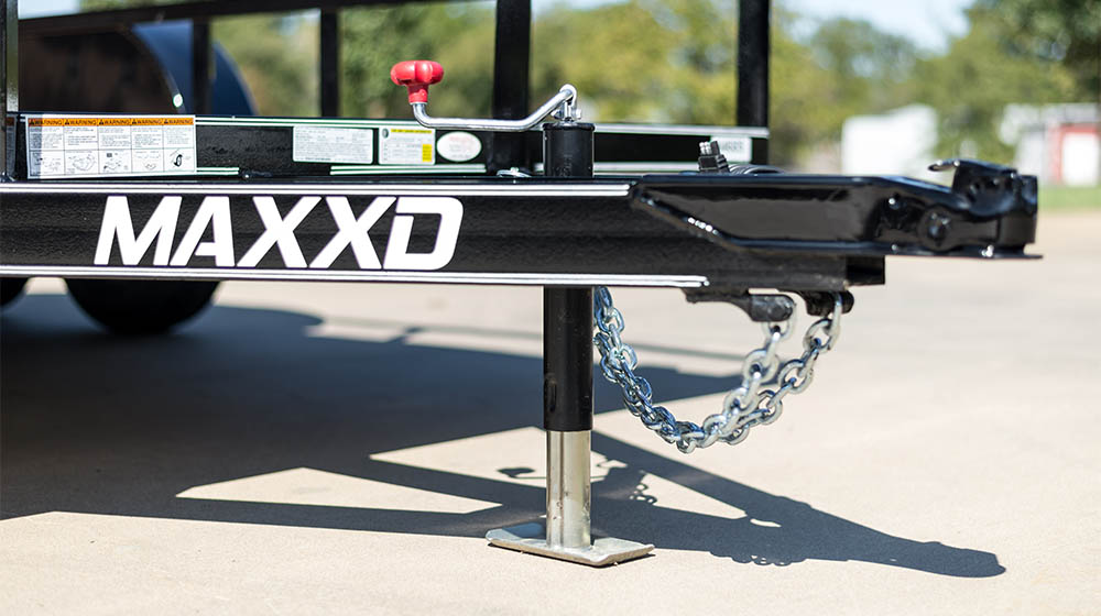 MAXXD U2M - White Series Angle Tandem Axle Utility Trailer