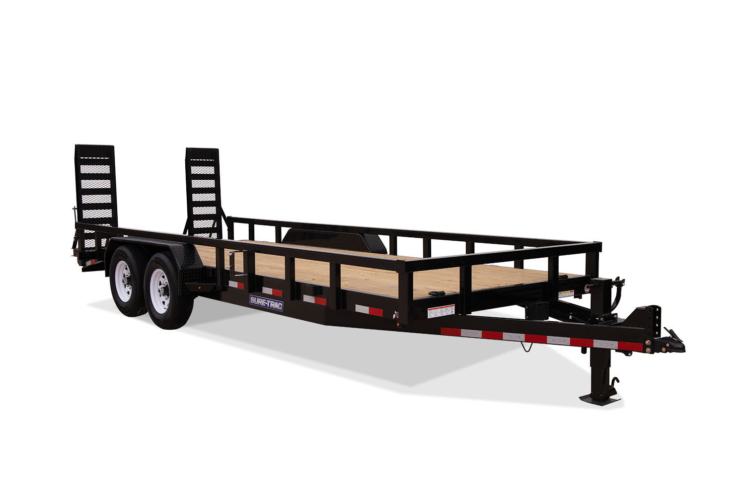 2019 Sure-Trac 7 x 22 14K Heavy Duty Equipment Trailer