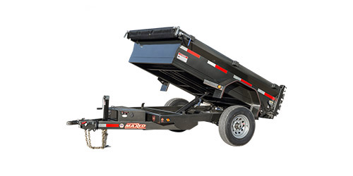 "MAXXD D5X - 60"" Single Ram Dump Trailer"