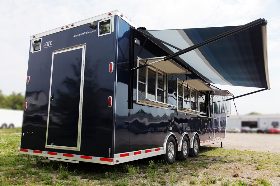 Mobile Kitchen Mobile Kitchen | Mouser Steel Trailers in MO | Horse ...