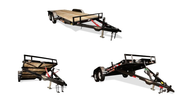 2019 H and H Trailer 82X18 MX SPEEDLOADER 10K
