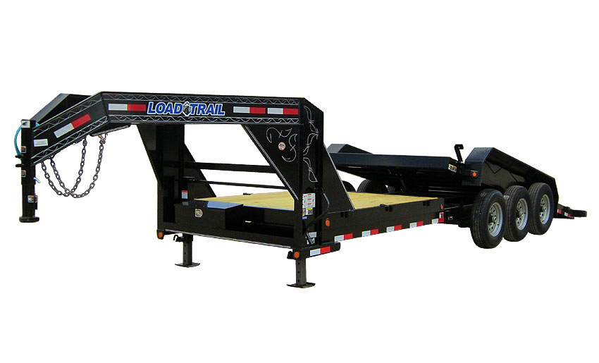 "Load Trail GT21 - GN Tilt Deck Power Up & Down 81.5"" x 24"