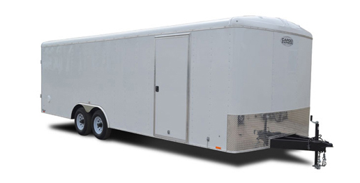 2019 Cargo Express Xl Auto Flat Top Wedge 10k Car / Racing Trailer