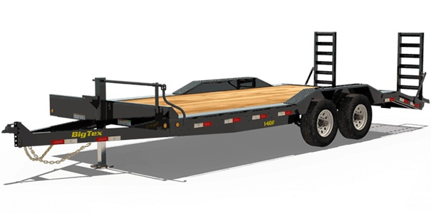 Big Tex Trailers 14DF-18