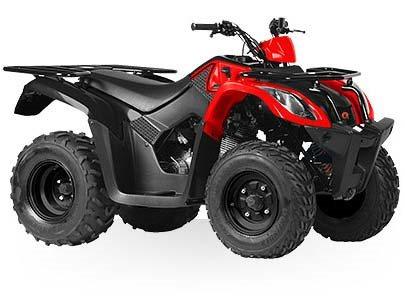 Kymco MXU 150X - Red / Black