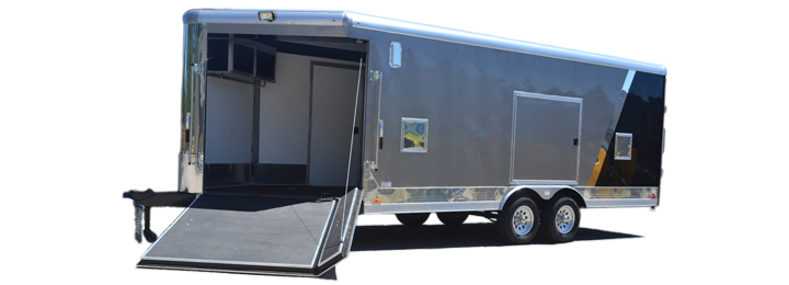 2018 Cargo Express Pro Sport 8.5 Roundtop 10k Car / Racing Trailer