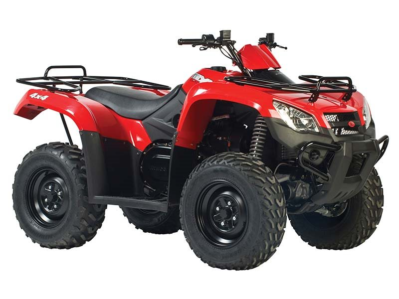 Kymco MXU 450i - Red