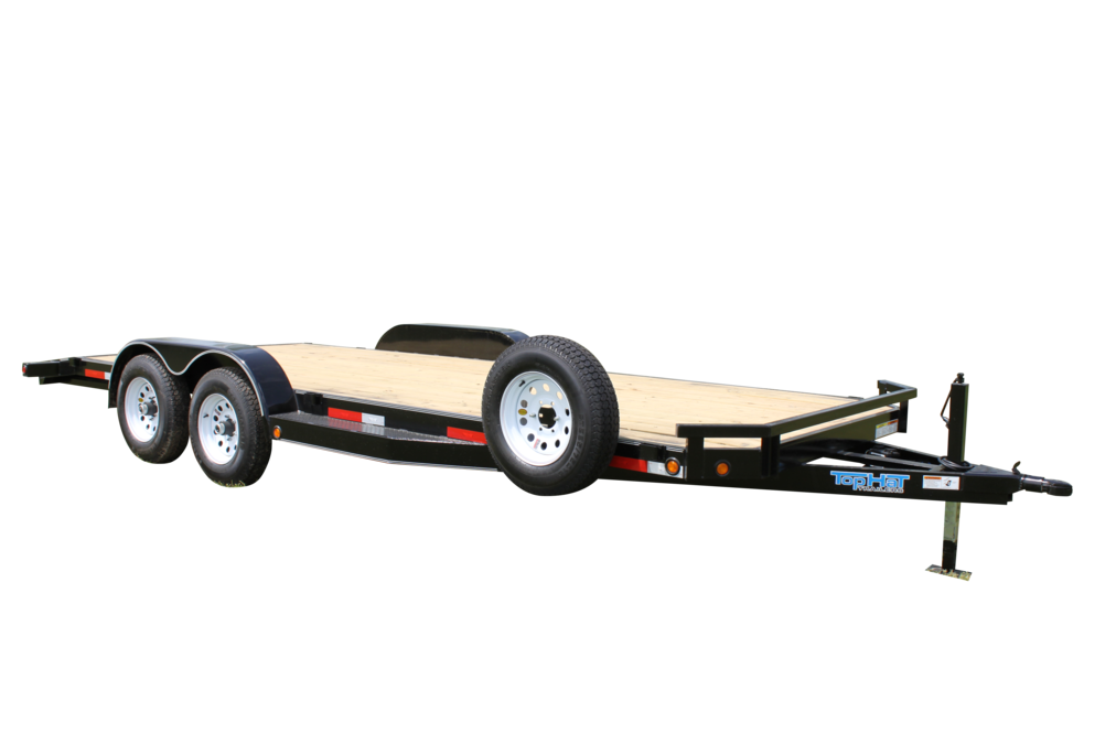 "Top Hat HD DELUXE CAR HAULER - 16x83"" HD DCH"
