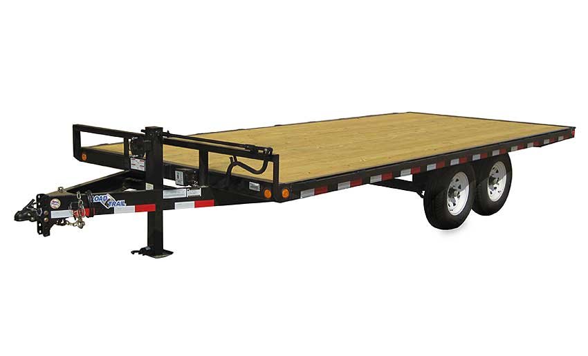 "2015 Load Trail 102"" X 18' Deck Over Pintle Hook"