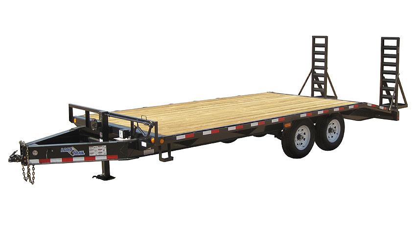 "2019 Load Trail 102"" X 16' Tandem Standard Pintle Hook Equipment Trailer"
