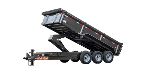 "MAXXD DHX - 83"" Super HD Dump Trailer"