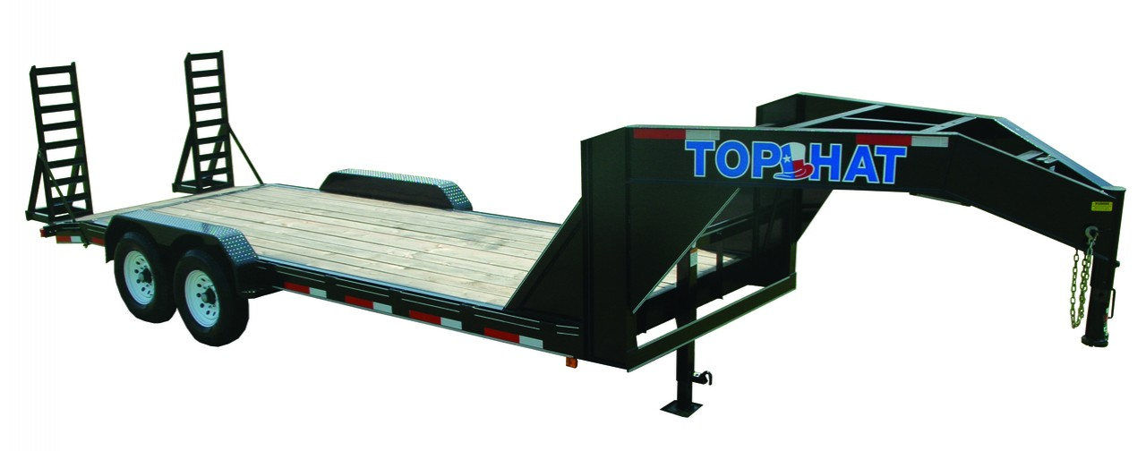 "Top Hat EQUIPMENT HAULER GOOSENECK 14K - 24x83"" EHGN 14K"