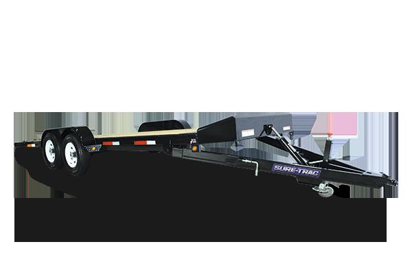 2018 Sure-Trac 7 x 20 Tilt Bed Car Hauler 7k