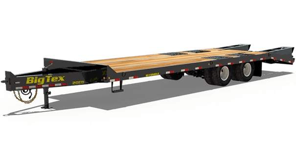 Big Tex Trailers 20ED-24+5