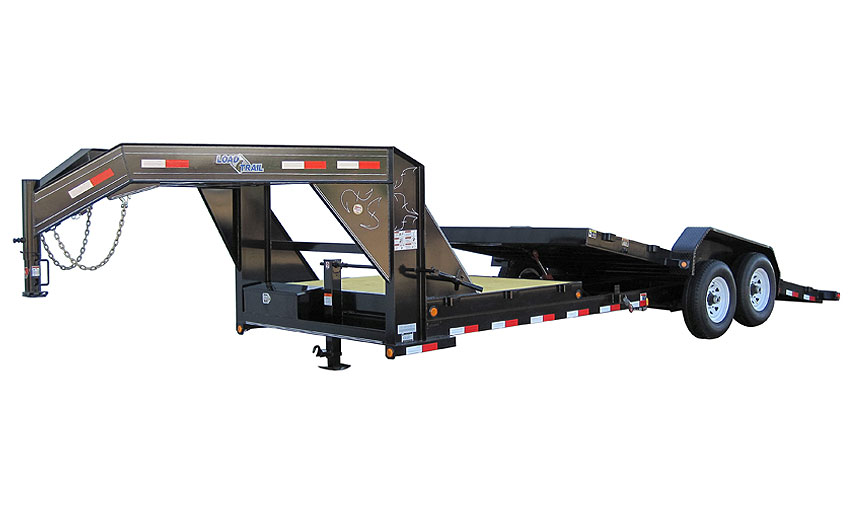 "Load Trail GG10 - Gooseneck Tilt Deck Gravity 81.5"" x 22"