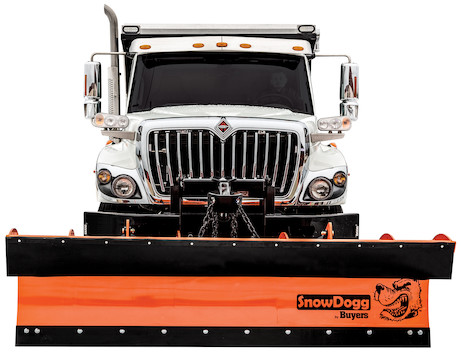 SnowDogg 36 Inch Full Trip Steel Municipal Plow Assembly