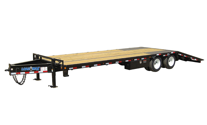 "2016 Load Trail 102"" X 32' Low-Pro Pintle Hook  2-15,000 lb Axles W/Hyd. Dove"