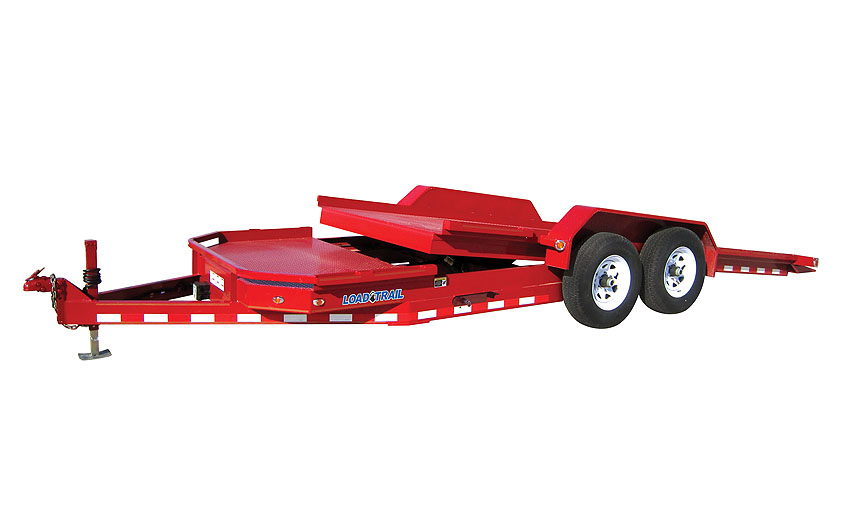 "Load Trail TL10 - Low-Profile Tandem Axle Tilt Deck 83"" x 22"