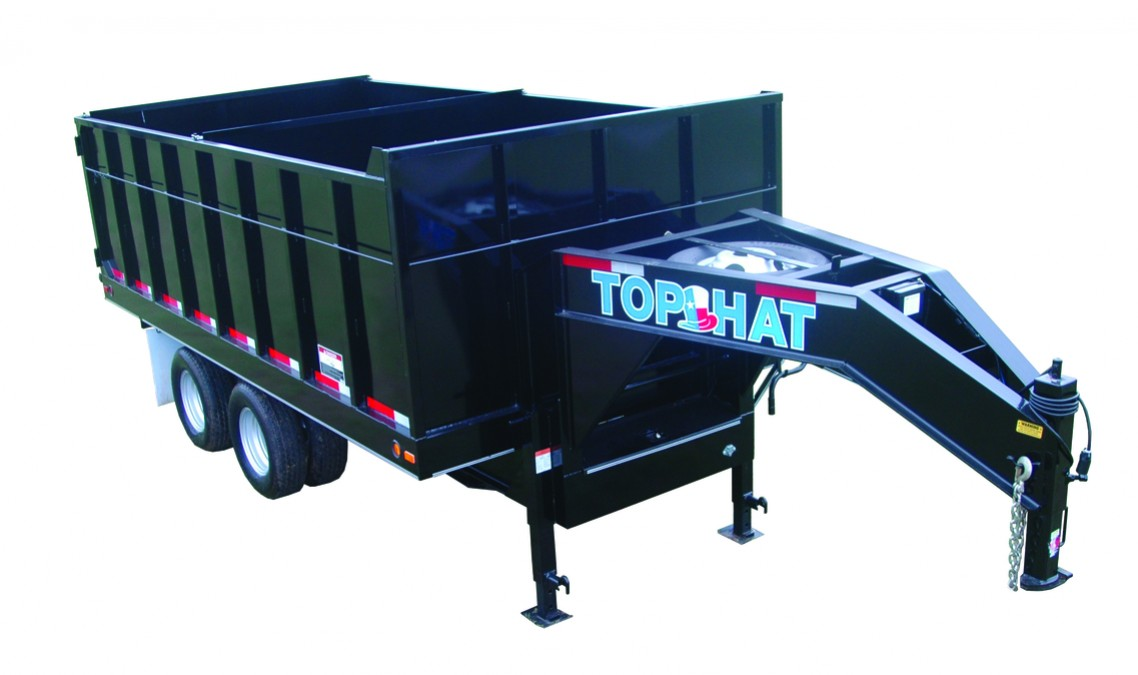 Top Hat OTW GOOSENECK DUMP 240 - 8x16 OTW-DP 240