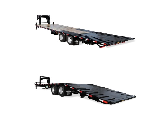 2019 H and H Trailer 25+10 HYD TAIL GN 19LB 20K