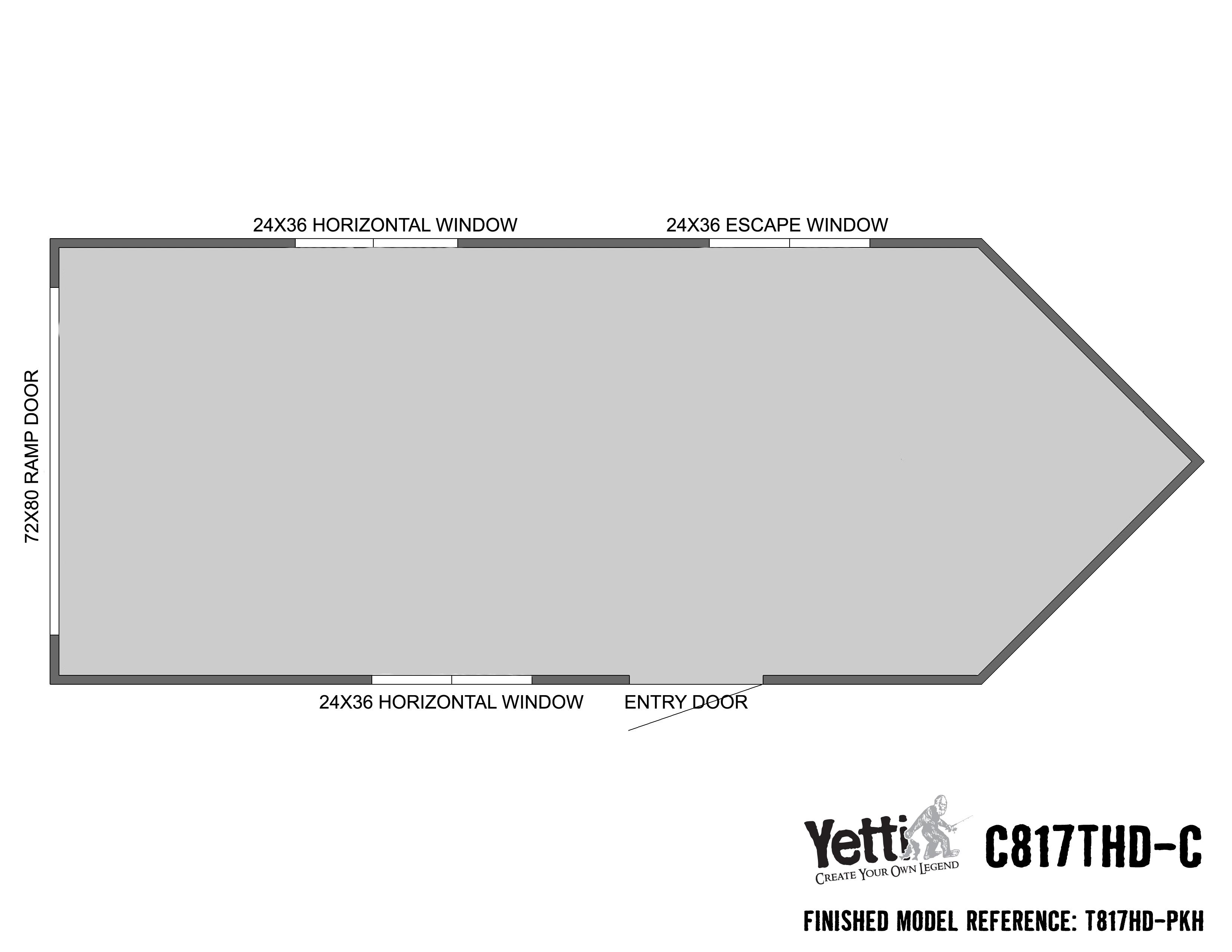 Yetti C817THD-C