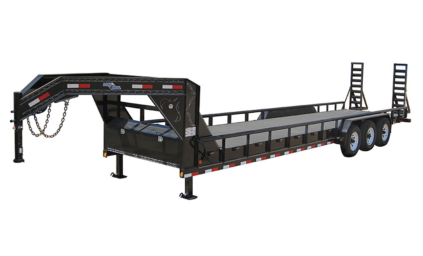 "2019 Load Trail 102"" X 30' Triple Gooseneck Carhauler Car / Racing Trailer"