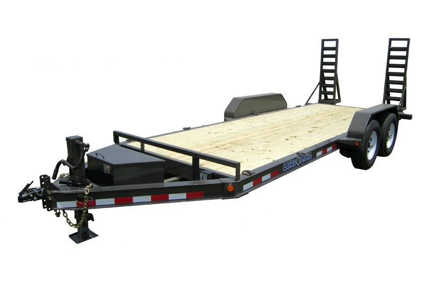"2014 Load Trail 80"" X 20' Tandem Axle 6"" I-Beam Carhauler 2-7000 lb"