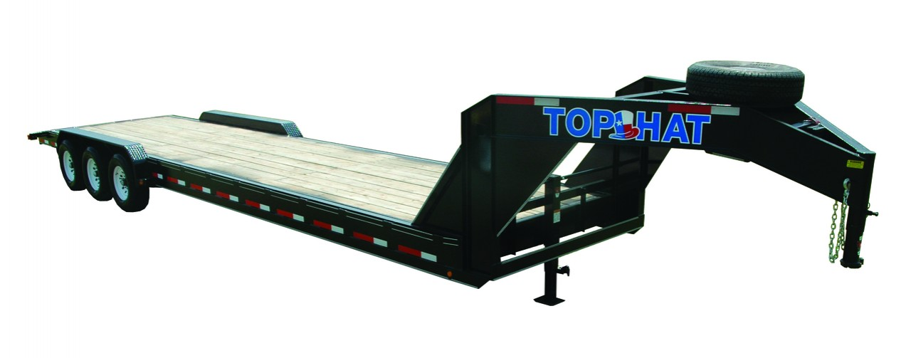 "Top Hat EQUIPMENT HAULER GOOSENECK 21K - 28x83"" EHGN 21K"