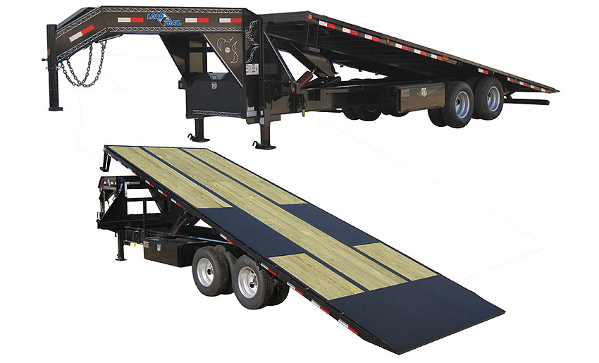 Load Trail GT22 - Gooseneck Equipment Tilt Deck 102 x 30