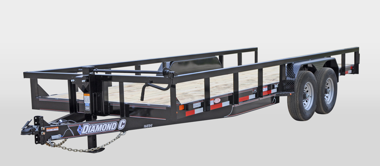 Diamond C Trailers 16EDU