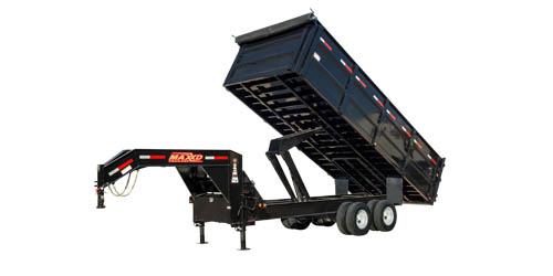 "MAXXD DDX - 96"" Tandem Dual Dump Trailer"