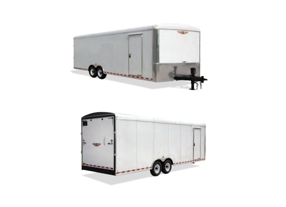 2019 H and H Trailer 101X24 TL R-TOP CARHAUL VNOSE 14K CARGO