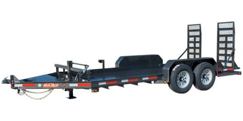 MAXXD B6X - Low Profile Skid Steer Trailer