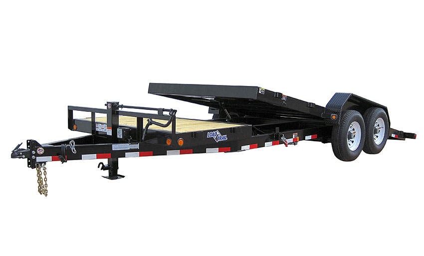 "Load Trail TD10 - Tilt Deck Gravity 81.5"" x 22"