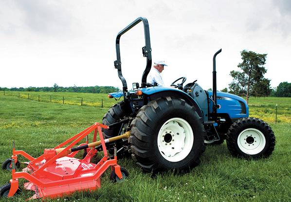 LS Tractor U6020 ROPS
