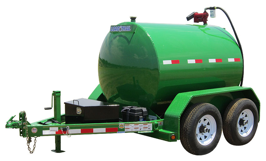 "2015 Load Trail 60"" X 10' 750 Gallon Tandem Axle Fuel Tank"