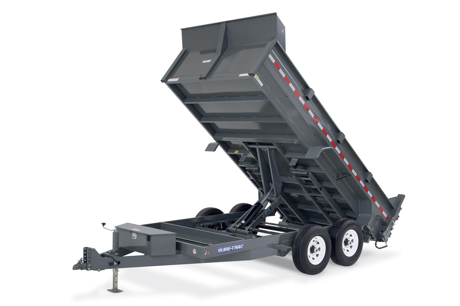 2019 Sure-Trac 82 IN X 16 LP 14K Scissor Dump 2020124