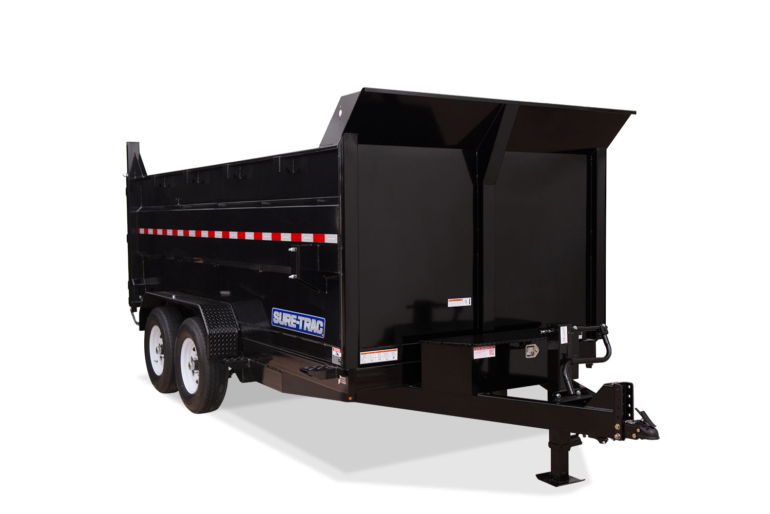 2019 Sure-Trac 82 IN X 14 LP 14K Telescopic 4ft Side Du