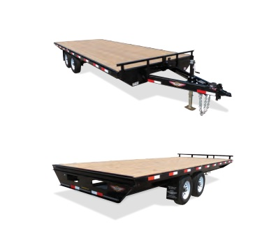 2019 H and H Trailer 102X24 14K DECKOVER LIGHT DUTY