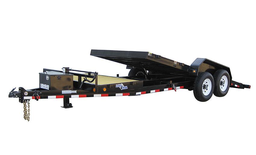 """2014 Load Trail 102"""" X 20' Tandem Axle Tilt Deck  w/Power"""