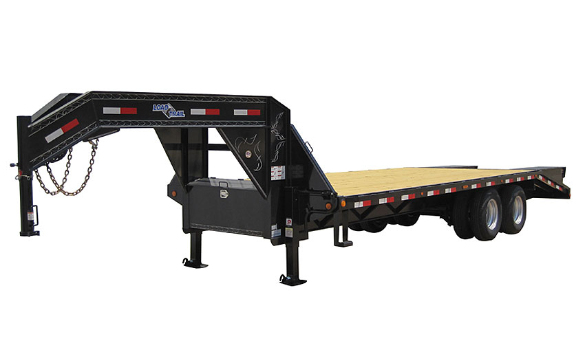 "2019 Load Trail 102"" X 40' Triple Heavy Duty Gooseneck Equipment Trailer"