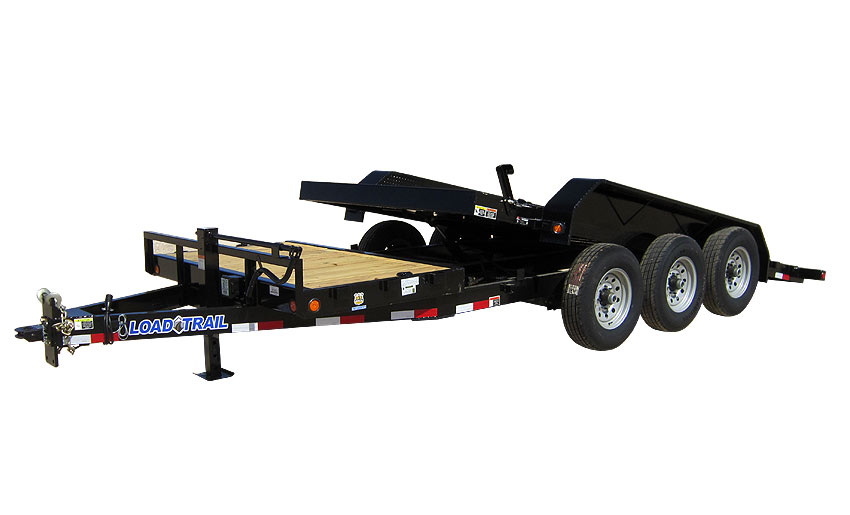 "2019 Load Trail 81.5"" X 24' Triple Axle Tilt Deck Equipment Trailer"