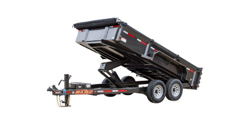 "MAXXD DLX - 83"" Ultra Low Profile Dump Trailer"