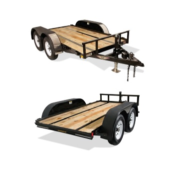 2019 H and H Trailer 60X10 FUEL 7K