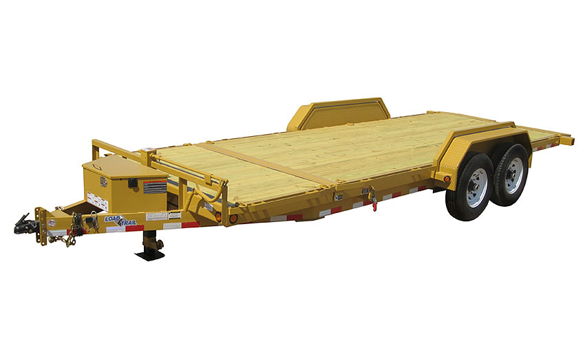 "2014 Load Trail 81.5"" X 20' Tandem Axle Tilt Deck  w/Power"