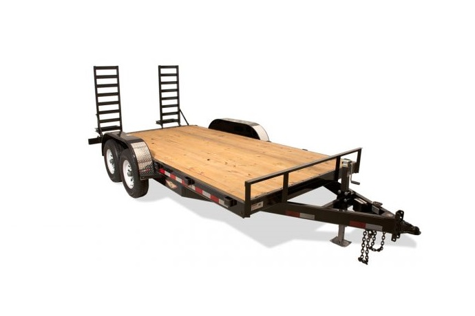 2018 H and H Trailer 82X16+4 IL SUPER DELUXE 14K