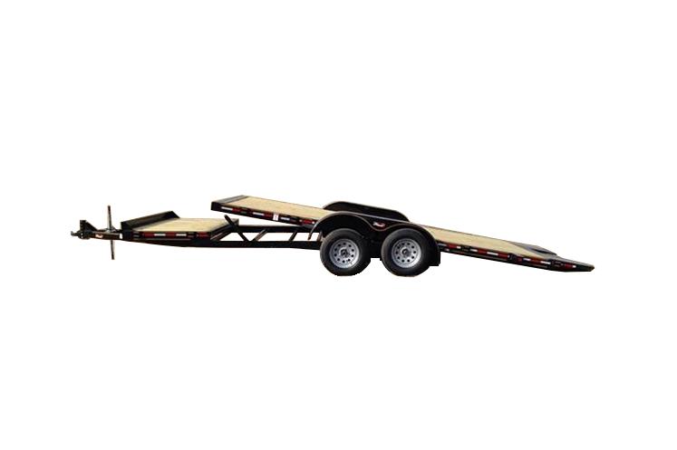 deckover 14k deckover gooseneck    bumper pull trailers