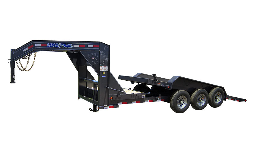 "Load Trail GG21 - Gooseneck Tilt Deck Gravity 81.5"" x 24"
